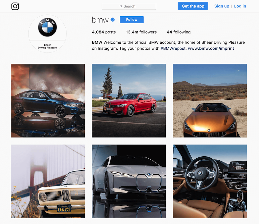 BMW Instagram Feutured Photos