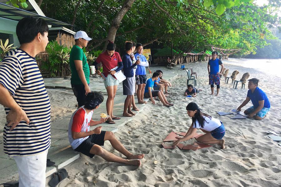 Propelrr Team Building Activities Tangram